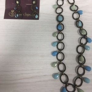 Premier Design Necklace and Earring set